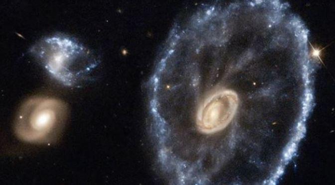 La Galaxia Cartwheel, la galaxia rueda de carro