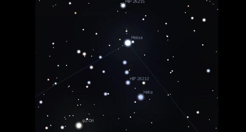 Meissa La Estrella Que Marcha Orgullosa En Orion Universo Blog