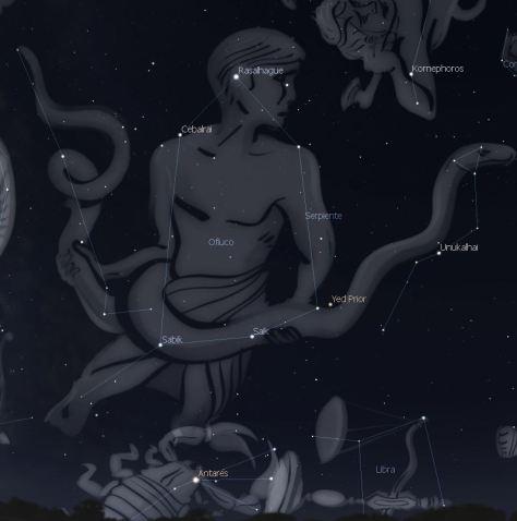 ofiuco mitología