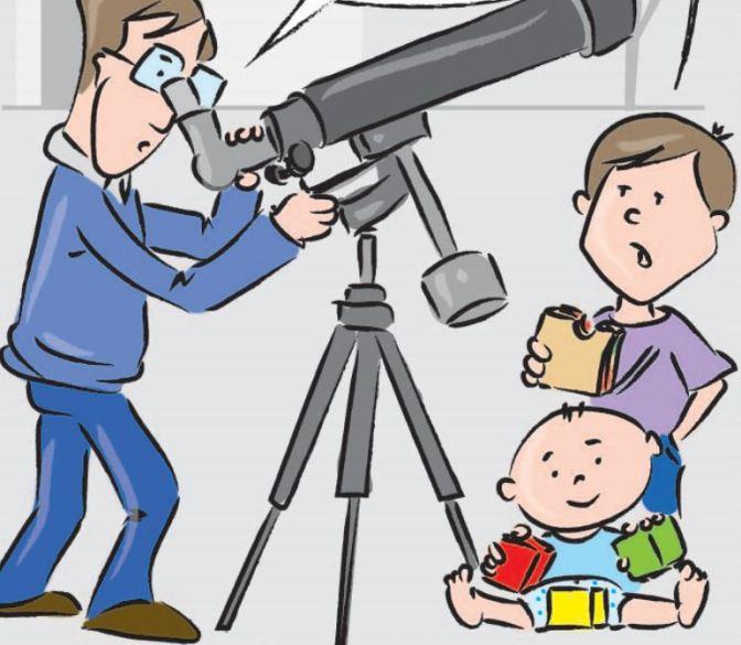 Cómic astronómico: Io, yo… y su familia