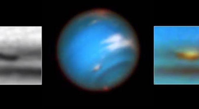 Las gigantescas tormentas de Neptuno