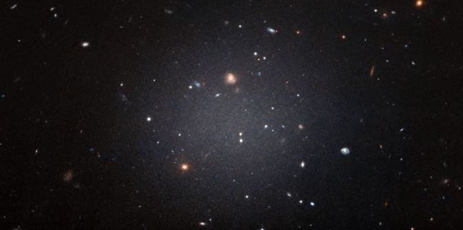 """La galaxia """"transparente"""""""