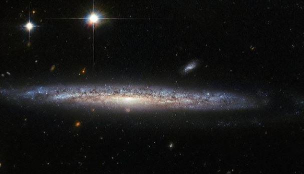 La galaxia NGC 5714 y su misteriosa supernova de 2003