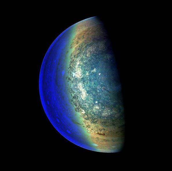 júpiter zona ecuatorial