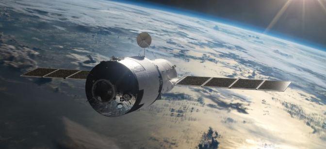 La reentrada de la estación espacial Tiangong 1