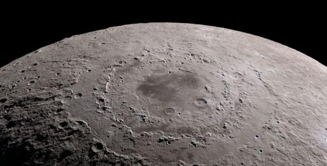 Un impresionante Tour por la Luna en 4k
