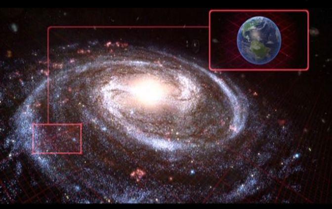 Nuestro lugar en la galaxia
