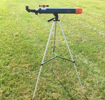 telescopio montado