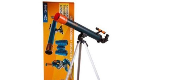 Kits para principiantes en la astronomía y en el microcosmos