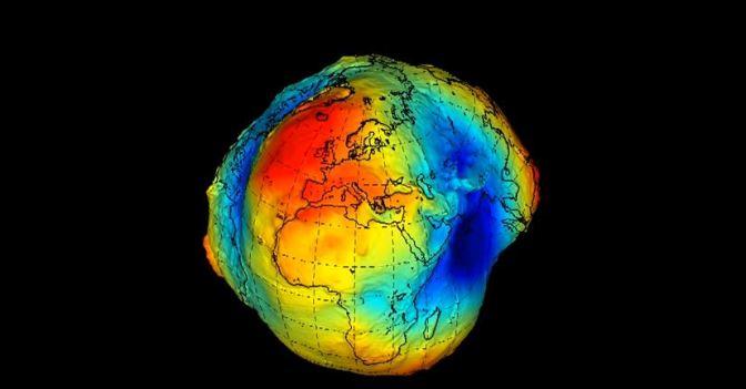El Geoide: el mapa de gravedad de la Tierra