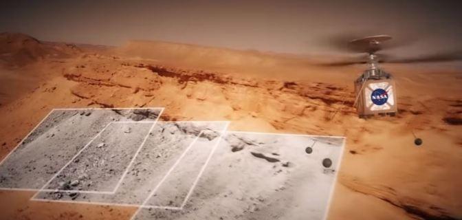 Un Helicóptero para explorar Marte