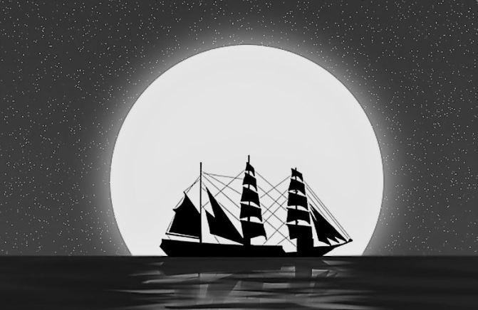 La ilusión óptica de la Luna y el Sol sobre el horizonte