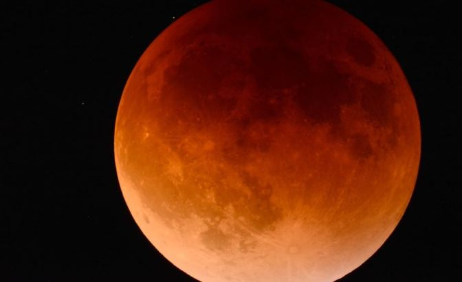El espectacular eclipse de Luna del 27 de julio