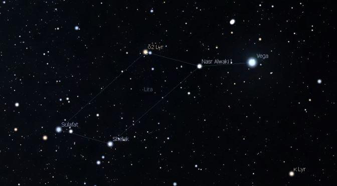 La preciosa constelación dela Lira