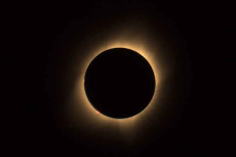 astronomy circle dark eclipse