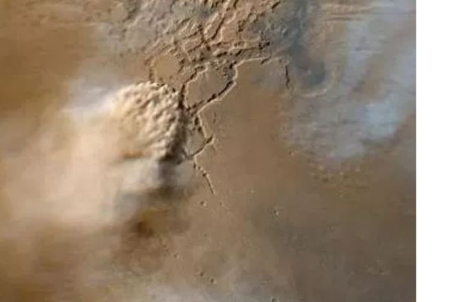Una inmensa tormenta de polvo en Marte paraliza la comunicación con el robot Opportunity