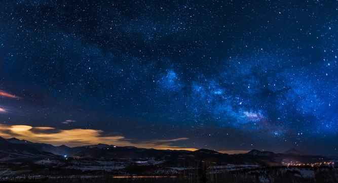 astronomy beautiful clouds constellation