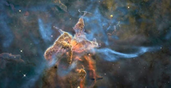 La Nebulosa Carina en 3D