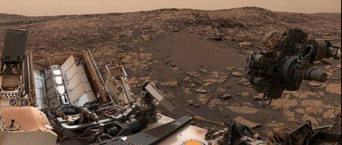 Impresionante vista en 360º de Marte desde el Curiosity