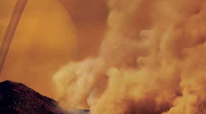 Descubiertas enormes tormentas de polvo en Titán