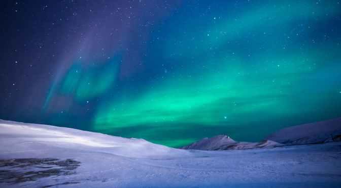 Las Auroras Polares, cuando el Sol pinta el cielo de colores