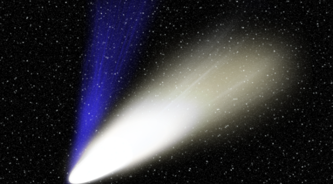 ¡Un precioso cometa observable a simple vista en diciembre!