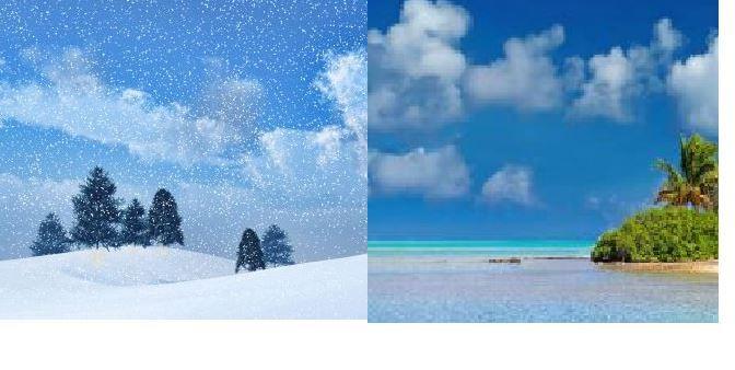 El inicio del invierno en el hemisferio norte y del verano en el hemisferio sur