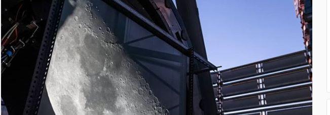 La impresionante imagen de la Luna desde el VLT