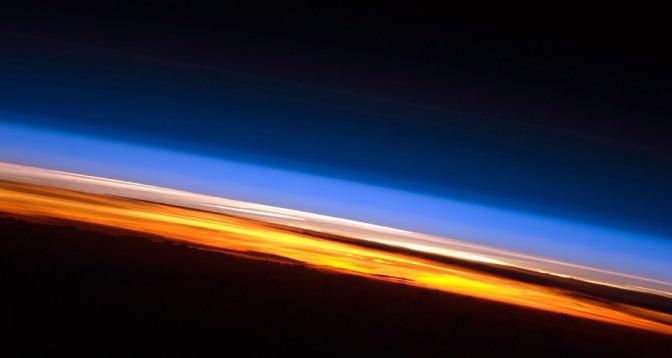 Las diferentes capas de la atmósfera de la Tierra