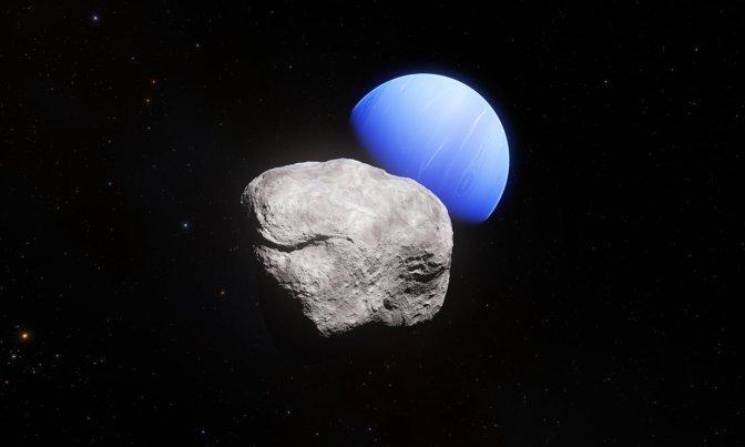 La luna más pequeña de Neptuno: Hipocampo