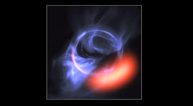 Un viaje a Sagitario A*, el enorme agujero negro del centro de la galaxia