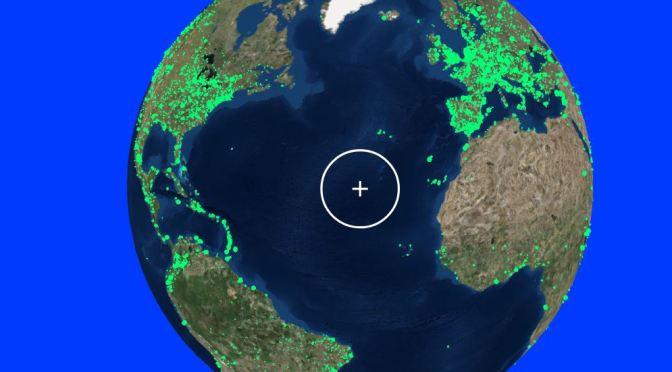 Viaja por la Tierra y escucha emisoras de radio