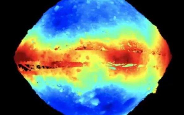 La impresionante vista tridimensional del asteroide Bennu
