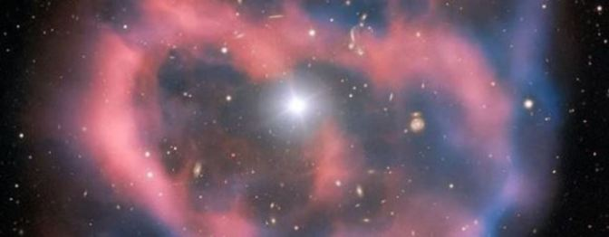 El último aliento de una estrella