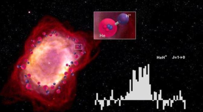 Detectada una de las primeras MOLÉCULAS que se formaron en el universo