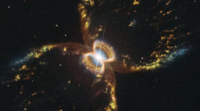 La impresionante Nebulosa del cangrejo del Sur