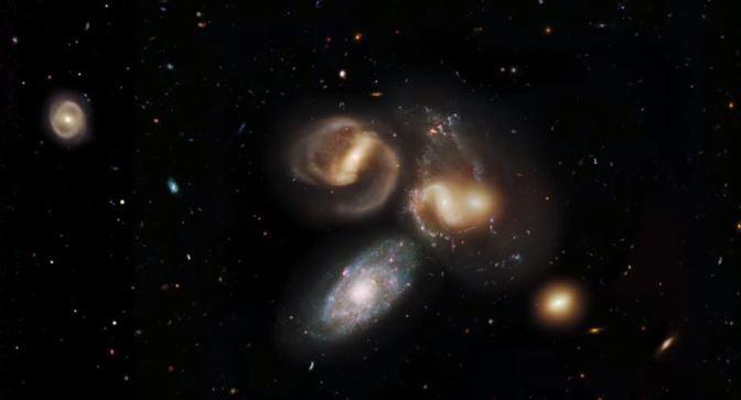 Viajando al espectacular Quinteto de Stephan en 3d