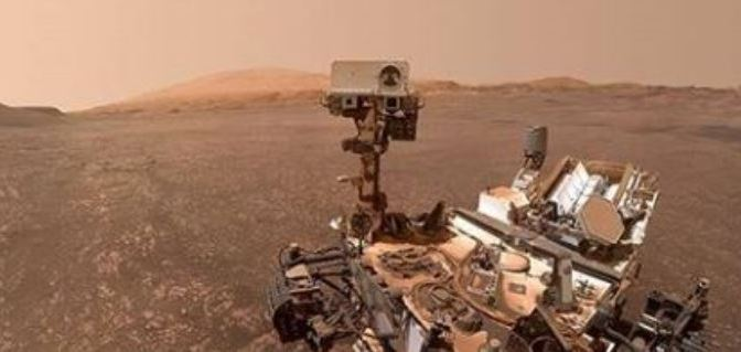 Sonríe Curiosity: Selfie desde Marte