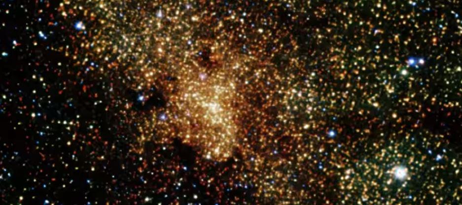 Un brillo inesperado en el agujero negro de la Vía Láctea