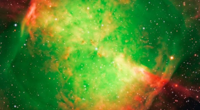 Una de las mejores vistas del firmamento: La nebulosa Dumbbell