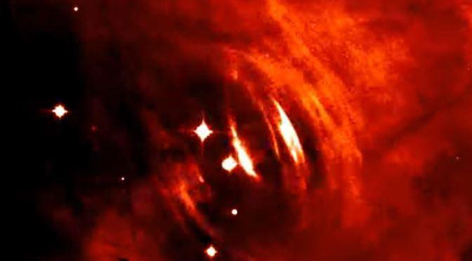 El púlsar de la Nebulosa del Cangrejo en movimiento