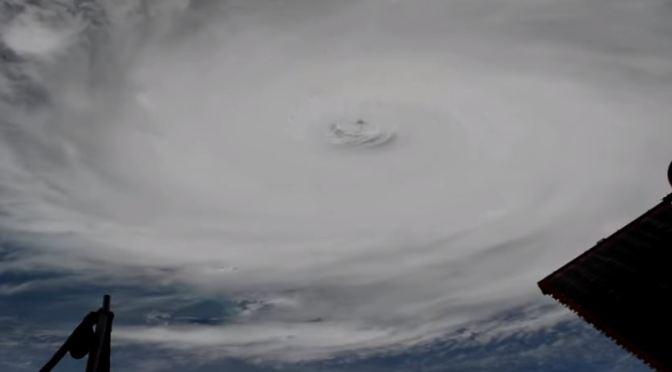 El impresionante Huracán Dorian visto desde el espacio