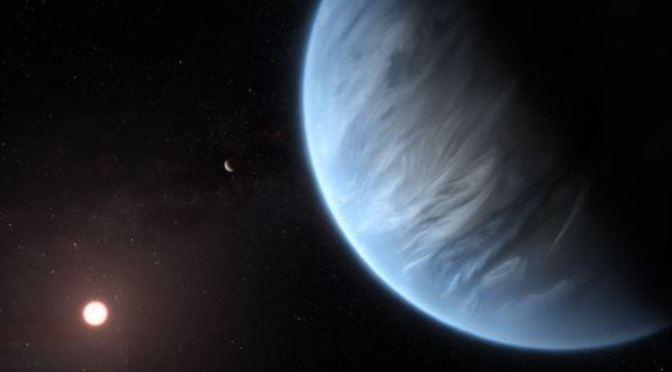 encontrada agua en un exoplaneta potencialmente habitable