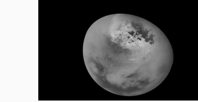 Las impresionantes nubes de metano de Titán