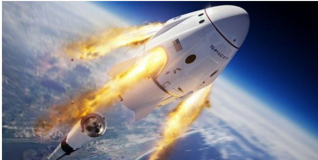 El vuelo histórico que realizarán al espacio la NASA y SPACE X