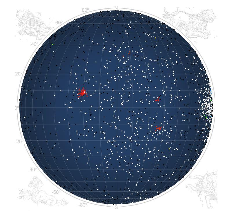 Detectadas dos nuevas lluvias de meteoros