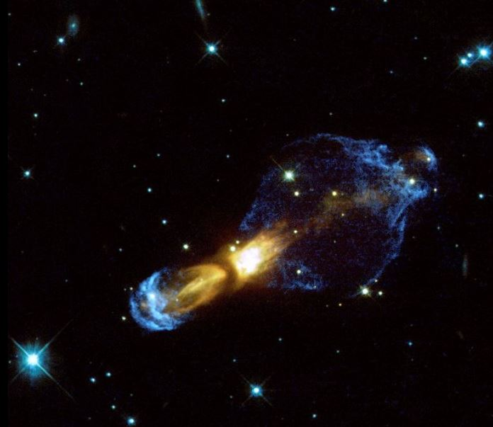 La impresionante Nebulosa del huevo podrido