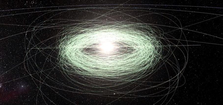 La misión Gaia detecta cientos de asteroides desconocidos