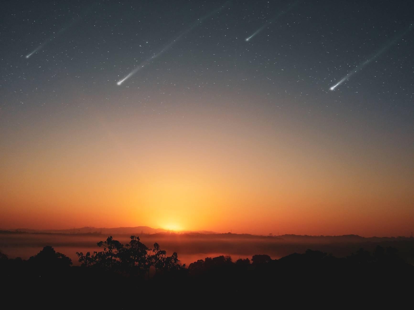 Espectacular doble lluvia de meteoros el 30 de julio