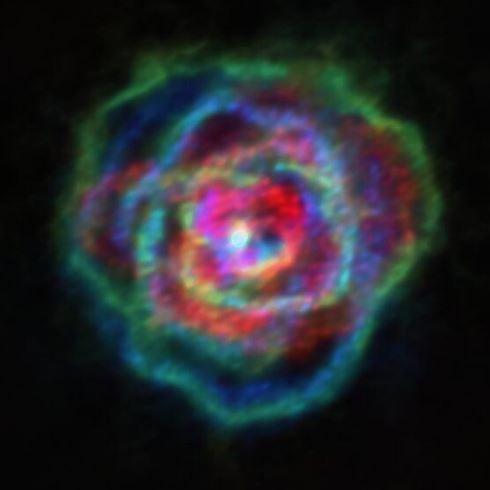 Los vientos estelares de las estrellas gigante rojas